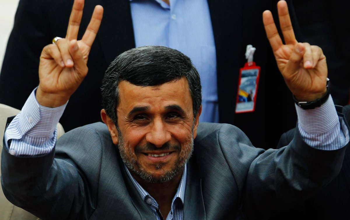 Why is the New York Times still taking Mahmoud Ahmadinejad seriously?